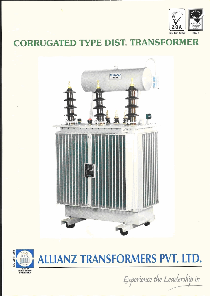 corrugated transformer product details