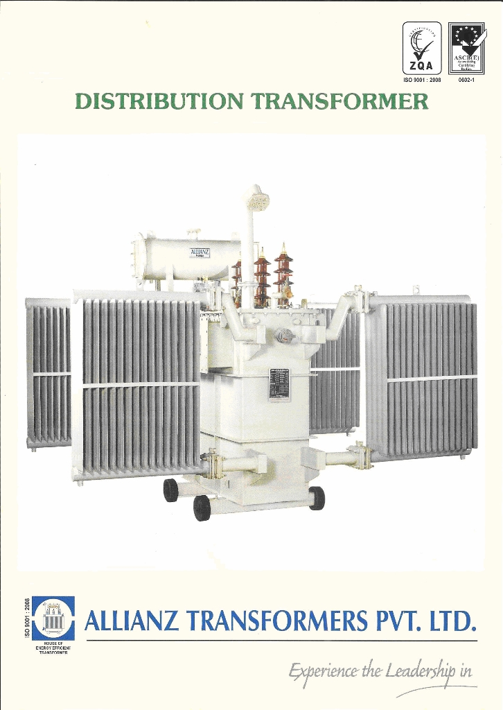 distribution transformer product catalog