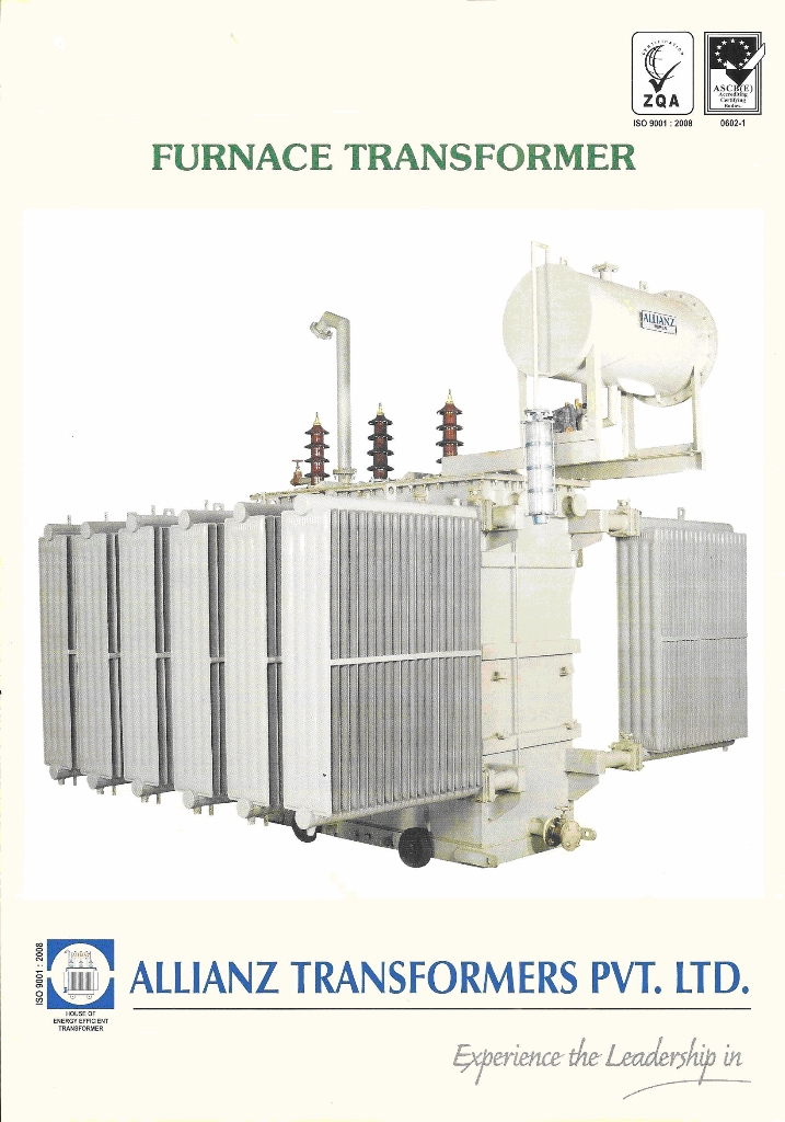 furnace transformer product catalog